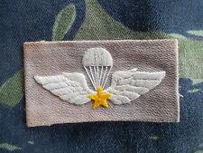 ORIGINAL GENUINE VIETNAM WAR ARVN PARA WINGS PARATROOPER JUMP BADGE PATCH SF