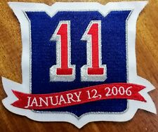 Mark Messier New York Rangers #11 Jersey Number Retirement Patch