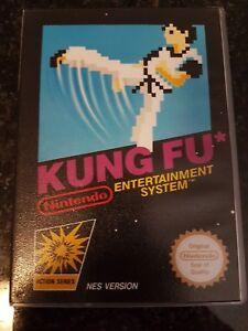 NES Kung Fu PAL In Custom Case