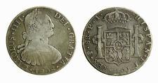 s281_6) SPAIN Bolivia Charles IV 8 Reales 1808 PJ KM# 73
