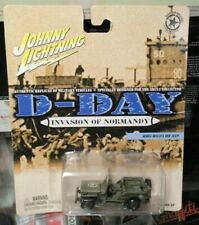 Johnny Lighting D-Day Invasion of Normandy WWII Willys MB Jeep Military Army