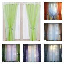 Ready made Voile Net curtains - Two Coloured Sides / Firany / Firanki / new