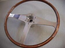 Jaguar Mk2 Derrington Wood Steering Wheel WITH BOSS