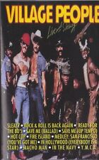 Live and Sleazy by The Village People Audio Music Cassette Tape 1994 Rebound...