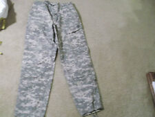US  ARMY FLAME RESISTANT ACU PANTS RIPSTOP SIZE MEDIUM - LONG