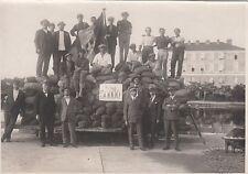 8746) ZARA, 1923, AVIAZIONE, COLLAUDO DEI PONTONI GALLEGGIANTI IN CEMENTO.