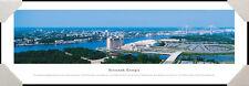 Savannah, Georgia City Skyline Riverfront Plaza Framed Poster Picture I