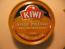 Kiwi Shoe Boot Polish Shine Leather Paste Protector 1 1/8 oz. Can - ALL COLORS