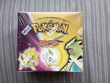 2002 Pokemon NEO DESTINY  Factory Sealed Unlimited Booster Box 36 Packs