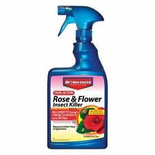 Bayer Advanced 502570 Dual Action Rose and Flower Insect Killer Ready-To-Use,.