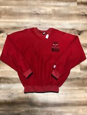 CHICAGO BULLS NBA BASKETBALL VINTAGE 90s THE GAME SMALL PATCH SWEATSHIRT LARGE