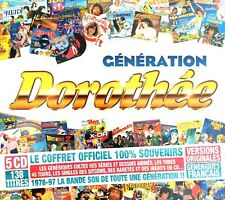 COFFRET OFFICIEL BOX DIGIPACK X5 CD GENERATION DOROTHEE 138 TITRES NEUF/BLISTER