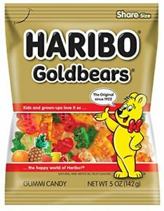 Haribo Gold Bears, 5 Oz Bag (1)