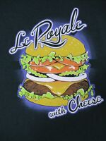 PULP FICTION - LE ROYALE WITH CHEESE - SMALL NAVY BLUE T-SHIRT - T2040