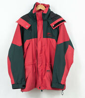 Vintage Helly Hansen Mountain Jacket Helly Tech Waterproof Red Mens Size M