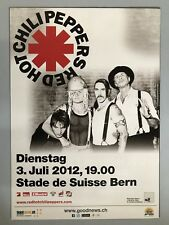 Red Hot Chili Pepper 2012 bern + + Orig. Concert Poster -- CONCERT Affiche NEUF