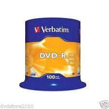 Verbatim (43549/100) Campana da 100 Dvd-r 4.7gb 16x Serigrafati. 43549/100