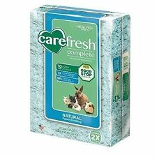 4x CareFRESH Complete Natural Paper Bedding 50 L Blue