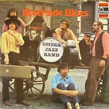 "12"" LP-OMEGA Jazz Band-Riverside Blues-b195-RAR-Slavati & cleaned"