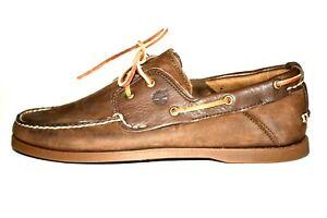 Timberland Herren Schuhe, 2-Eye Classic Bootsschuhe! LEDER! NEU! TOP!!! Gr.45