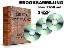 EBOOKSAMMLUNG >11 GB ebooks Romane Abenteuer Krimi Erotik Mystik Sagen auf 3 DVD