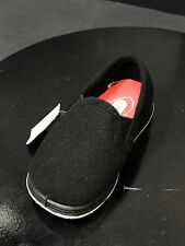 New Foamtreads Kids Gizmo Slip On Home Toddler Black Slippers Size US 8 M