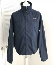 NAPAPIJRI Geographic Jacket Size XL Navy Outdoor Trekking Walking Cotton Coat