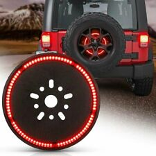 Spare Tire LED Wheel Light Reserve 3rd Brake Light For Jeep Wrangler JK TJ 07-18