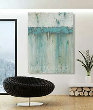Large modern hand-painted oil painting abstract art wall decoration(Unframed)