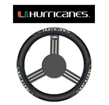 Miami Hurricanes Steering Wheel Cover Massage Grip