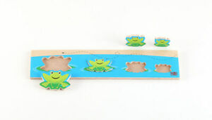 Discover Whos Bigger ? FROG Board Puzzles Ages 2 & Up