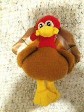 Russ Berrie Turkey Plush Thanksgiving Ornament Decor #290