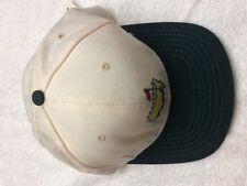 Masters  Golf Hat  Cream with Green Brim