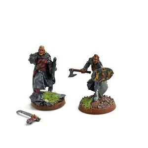 MIDDLE-EARTH 2 Rohan Captain Not Games workshop METAL LOTR