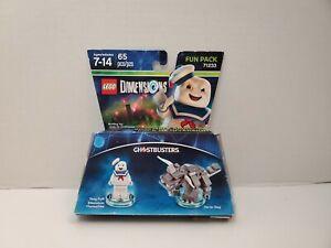 New in Box LEGO Dimensions Ghostbusters Stay Puft Terror Dog Fun Pack 71233 NIB