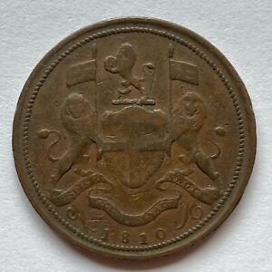Penang (Malaysia): 1810 Cent (Pice), KM#14 - East India Company