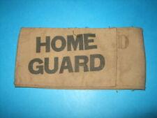 More details for  ww2 home guard original armband.