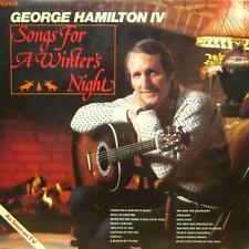George Hamilton IV(Vinyl LP)Songs For A Winter's Night-Ronco-Netherlands-VG+/NM