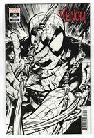 Venom #32 (2021) Ryan Stegman B&W Sketch 1:100 Variant King In Black Marvel