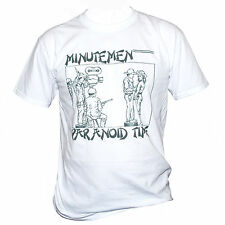 MINUTEMEN T SHIRT Punk Rock The Stooges Black Flag Fugazi Graphic Band Music Tee