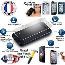 Protection Ecran Verre Trempé Contre les Chocs pour Alcatel OneTouch iDol 3 4.7