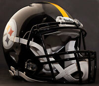 ***CUSTOM*** PITTSBURGH STEELERS NFL Riddell Full Size SPEED Football Helmet
