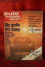 AMS Auto Motor Sport 22/80 * Renault Fuego Porsche 911 DB 230E Metro