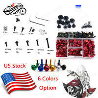 Full Set CNC Motorcycle Complete Fairing Bolt Kit for Ducati 959 Panigale 2016