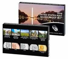 2019-S U.S. Mint Silver Proof Set, 10 Coins, OGP