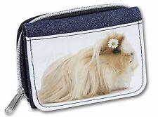 Flower in Hair Guinea Pig Girls/Ladies Denim Purse Wallet Christmas Gif, GIN-5JW