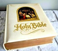 Holy Bible Analytical Edition by Crusade KJV Red Letter Faux Leather Cover VTG