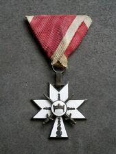 WK2 Kroatien, Original Orden der Krone König Zvonimirs 3. Klasse mit Schwertern