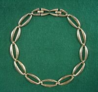 "Vintage Signed MONET Silver Tone Choker Necklace 14.5"" to 16"" long Adjustable"
