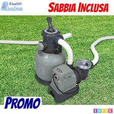 FILTRO A SABBIA 7900 L/H PER PISCINA FUORI TERRA INTEX - SABBIA INCLUSA 28646
